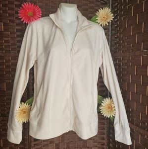 Columbia Sweatershirt color white cream